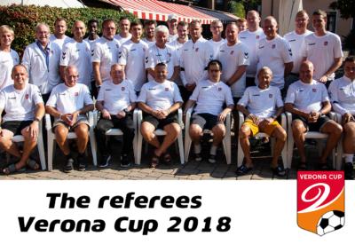 Verona Cup 2018 Referees