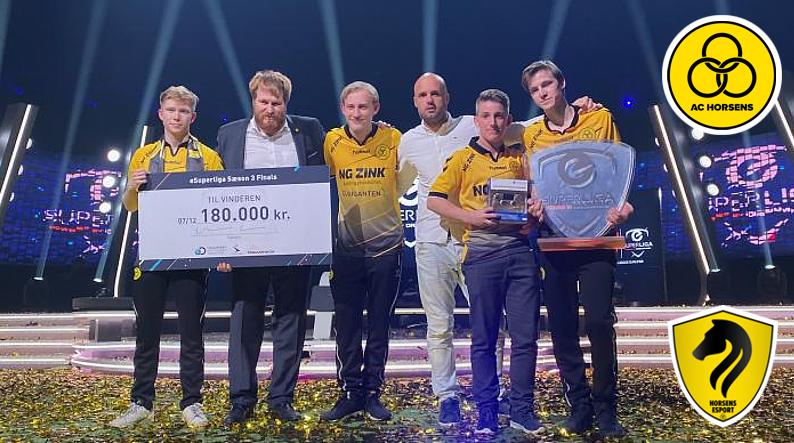 Tillykke til AC Horsens eSport team